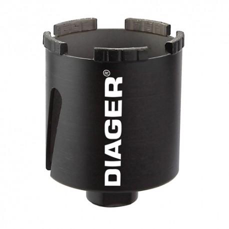 Trépan diamant à sec D. 68 x Lu. 66 mm - 431D68 - Diager