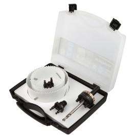 Mallette 5 pcs scie cloche PRO Quick Lock D. 83, 102 mm - 651E - Diager
