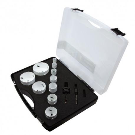 Mallette scie cloche PRO 12 pcs Spécial Maintenance - 655C - Diager