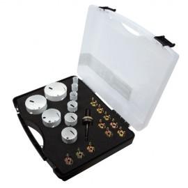 Mallette scie cloche PRO Quick Lock 9 pcs Spécial Maintenance - 656C - Diager