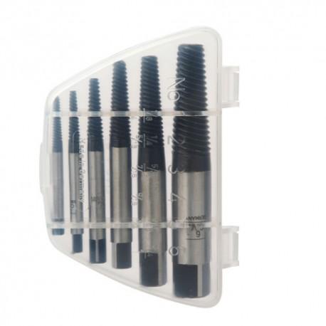 Coffret 6 extracteurs de vis N° 1 (M3) à 6 (M24) - U5050163 - Diager
