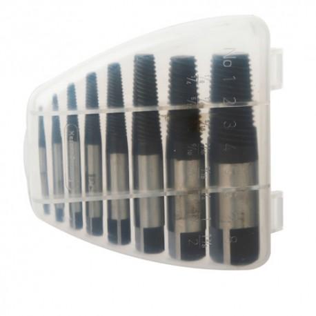 Coffret 8 extracteurs de vis N° 1 (M3) à 8 (M50) - U5050183 - Diager