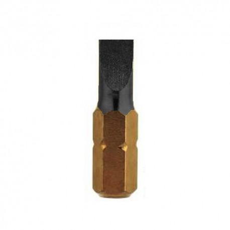 3 embouts TORSION PL2 x L. 25 mm DiaTin - U631PL2 - Diager