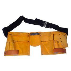 Ceinture porte-outils en cuir 11 poches - Spéciale artisan - Diamwood