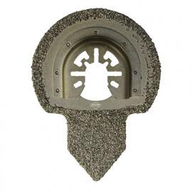 Enlève mortier à concretion carbure HM pour outil oscillant D. 65 mm pour carrelage et béton - 4015.01 - Leman