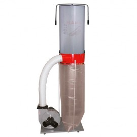 Aspirateur à copeaux de bois 300 L avec cartouche de filtration 400 V - 1100 W ABS2500FF-400V - Holzmann