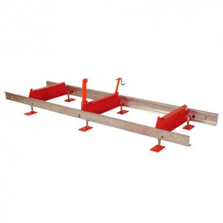 Rallonge de banc de scie 2,3 M BBS550RB pour BBS550 - Holzmann
