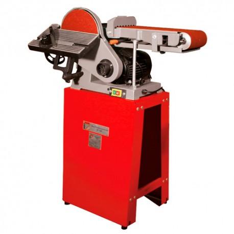 Ponceuse à bande 1220 x 150 mm et à disque D. 230 mm 230 V - 750 W BT1220 - Holzmann