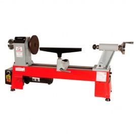 Tour à bois avec variateur et affichage digital L. 460 mm 230 V - 550 W D460FXL-230V - Holzmann