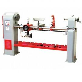 Tour à bois + copieur L. 1300 mm 400 V - 1100 W DBK1300-400V - Holzmann