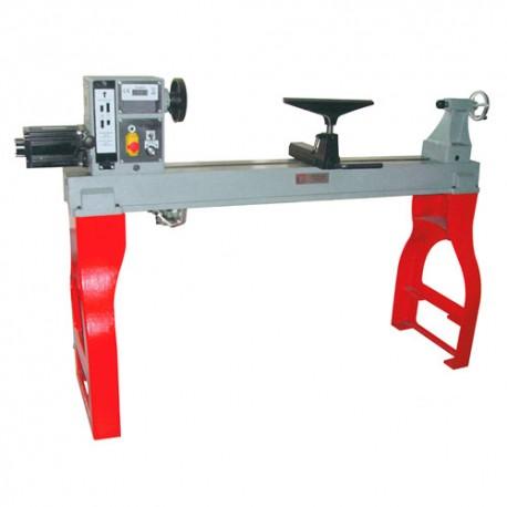Tour à bois avec variateur électronique LCD L. 1200 mm DF1200N - Holzmann