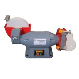Touret à meuler D. 150 mm et affûteuse D. 200 mm 230 V - 520 W DSM150200W - Holzmann