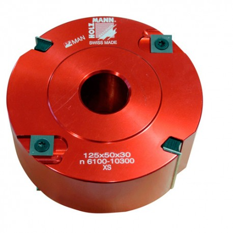 Porte-outil à calibrer D. 120 x 50 x Al. 30mm Z2 V2+2 FMK125 - Holzmann