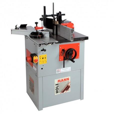 Toupie avec arbre fixe de 30 mm 400 V - 1500 W FS160L-400V - Holzmann