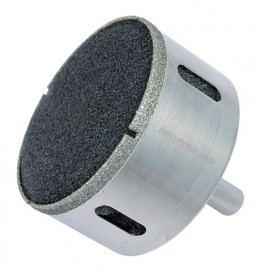Trépan diamanté D. 102 mm Ht. 35 mm pour carrelage à eau - 62.102 - Leman
