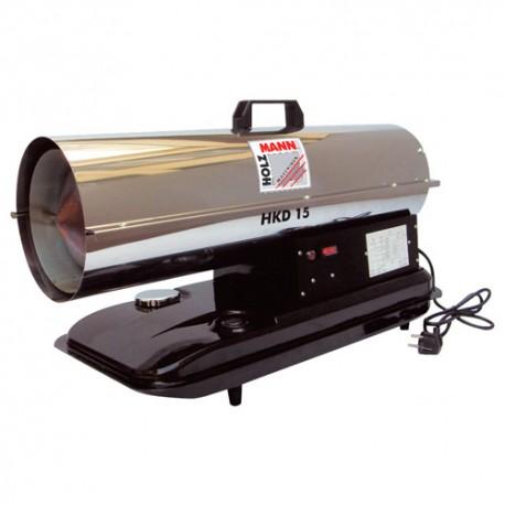 Canon thermique diesel air pulsé 1180 g/H HKD15 - Holzmann
