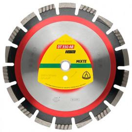 Disque diamant pour asphalte et béton D. 350 x 3,2 x 25,4 mm - DT 350 AB Extra