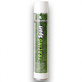Peinture aérosol pour traçage terrain TRACING SPORT 750 ml de couleur Blanche - 151800SPO - Soppec