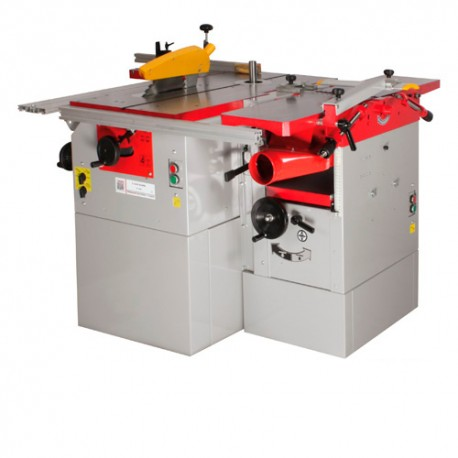 Combinée à bois 5 opérations 230 V - 3 moteurs K5260L-230V - Holzmann