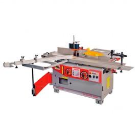Combinée à bois 5 opérations avec inciseur 400 V - 4 moteurs K5-320VFP-2000 - Holzmann