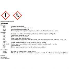 Chlore multifonctions galet de 250gr par 5 kg - 739305 - Aqua Soleil