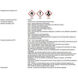 Mousse polyuréthane manuelle ALSAMOUSSE CF B1 coupe feu 750 ml - PO08141 - Alsafix