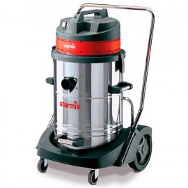 Aspirateur eau poussière 78L INOX 2 moteurs de 2400W 230 V GS 2078 PZ - 004020 - Starmix