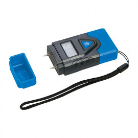Hygromètre digital pour bois : 6 à 42 % et béton : 0,2 à 2 % - 220841 - Silverline