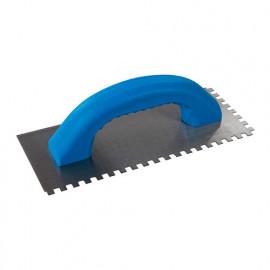 Platoir à colle 230 x 100 mm dents 6 mm avec poignée en D - 245062 - Silverline