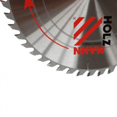 Lame de scie circulaire carbure D. 165 x 20 x Z48 KSB16520Z48 pour bois - Holzmann