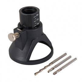 Guide de coupe multi-usage pour outils rotatifs avec tige de 3,17 mm - 261280 - Silverline