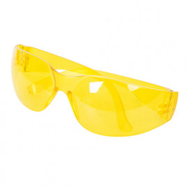 Lunettes de sécurité à protection anti-UV EN166 Jaune - 309636 - Silverline