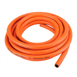 Tuyau à gaz 5M sans connecteurs - 384964 - Silverline