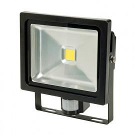 Projecteur LED COB 30W à détecteur raccordement 230V - 509924 - Silverline