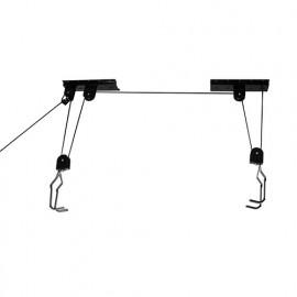 Porte-vélo 20 kg à fixation au plafond - 554289 - Silverline