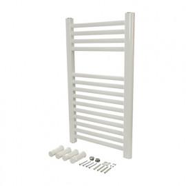 Radiateur sèche-serviettes blanc 700 x 400 mm - 563951 - Plumbob