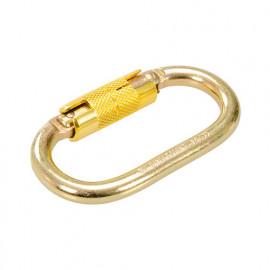 Crochet à mousqueton autobloquant ouverture max. 21 mm - 571429 - Silverline