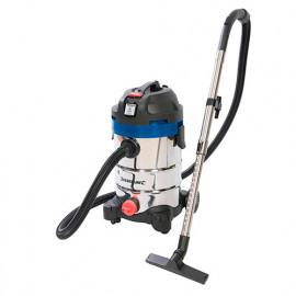 Aspirateur eau et poussière 30 L 1250W 230V (UE) avec prise synchronisée - 575803 - Silverline