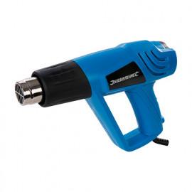 Pistolet décapeur réglable 550°C 2000W 230V (UE) - 908579 - Silverline