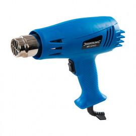 Pistolet décapeur à 2 vitesses 1500W 230V (UE) - 942941 - Silverline
