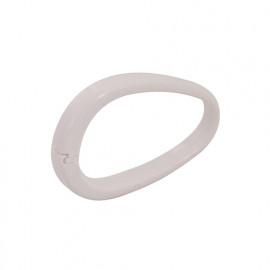 12 anneaux blancs pour rideau de douche - 281037 - Plumbob