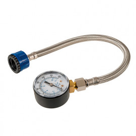 Manomètre pour conduites d'eau 0 - 11 bar ( 0 - 160 psi) - 482913 - Silverline