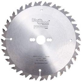 Lame de scie circulaire HM débit D. 250 x Al. 30 x ép. 3,2 mm x Z24 Alt + AR - Diamwood Platinum