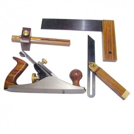 Kit d'outils main du menuisier STS4TLG - Holzmann