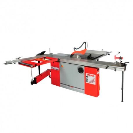 Scie sur table D. 315 mm chariot 3200 mm 400 V - 3800 W TS315VF-3200-400V - Holzmann