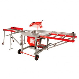 Rallonges de table à rouleaux TS400ZAL pour scie circulaire TS400Z-400V - Holzmann