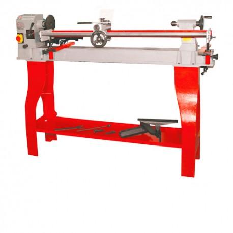 Tour à bois + copieur L. 1100 mm 400V - 750 W VD1100N-400V - Holzmann