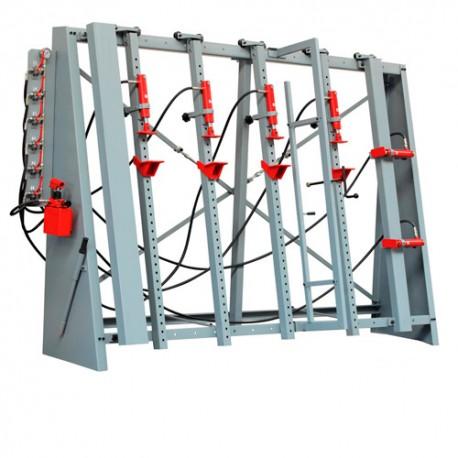 Cadreuse hydraulique manuelle 6 vérins VSTR3000 - Holzmann