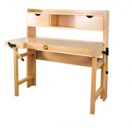 Etabli bois pliant 1230 x 770 mm WB123A - Holzmann