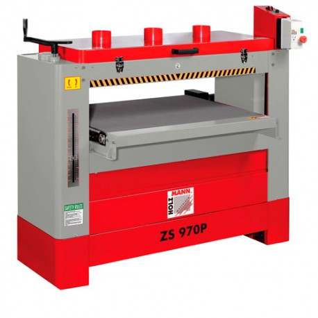 Ponceuse à double rouleaux L. 970 mm 230 V - 3700 W ZS970P-230V - Holzmann